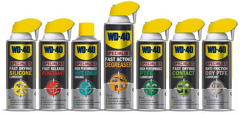 WD40 – NEW RANGE DELIVERS THE PERFECT TOOL