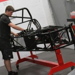 New from Kit Spares is this chassis trolley making it a cinch to work on your car's chassis