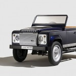This little Land Rover Defender pedal car will go into production in Spring 2016, priced at £10,000.