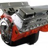 New block 383 stroker high performance crate engine, with aluminum heads and roller cam.